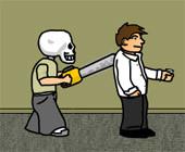 Флеш игры - Ребенок-скелет