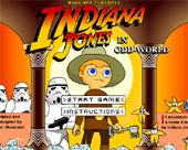 Флеш игры - Индиана Джонс в странном мире